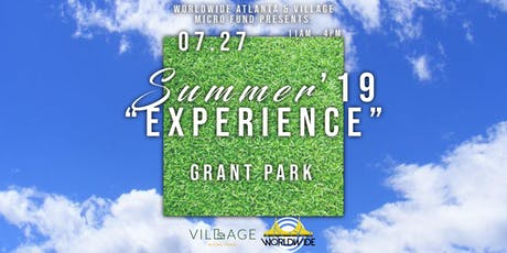 "Summer 19' ""EXPERIENCE"" tickets"