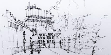 Build drawing skills: townscape sketching tickets