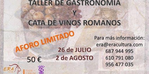 TALLER DE GASTRONOMÍA ROMANA