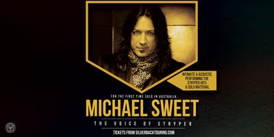 Michael Sweet – The Voice of Stryper – Live & Acoustic