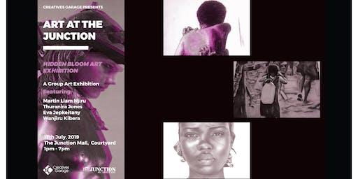 Art at The Junction: Hidden Bloom Exhibition