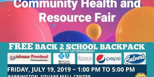 BACK 2 SCHOOL ~ COMMUNITY HEALTH AND RESOURCE FAIR
