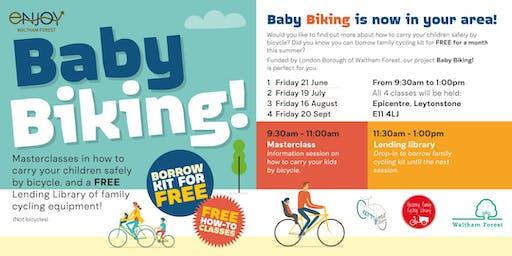 Baby Biking!