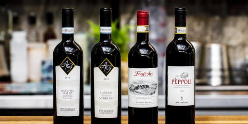 Experience Italy - Wine Dinner at Benny's