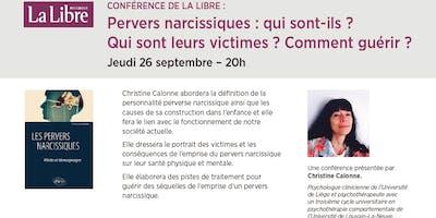 """Conférence \""""Pervers narcissiques : qui sont-ils ? Qui sont leurs victimes ? Comment guérir ?\"""""""