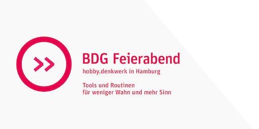 BDG Feierabend: Tools und Routinen für weniger Wahn und mehr Sinn