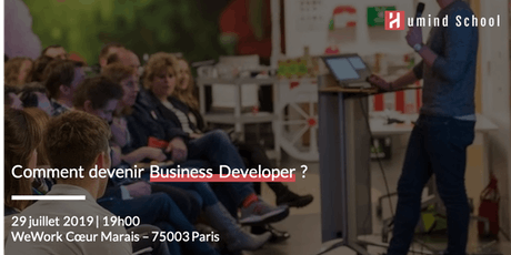Comment devenir Business Developer ? tickets