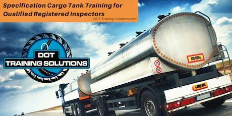 Cargo Tank Training for Qualified Registered Inspectors, Kansas City, KS tickets