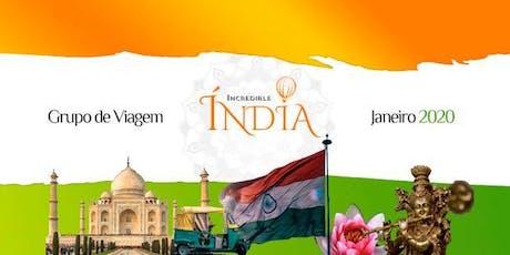Incredible India 2020 ingressos