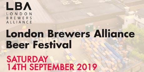 LBA Beer Festival 2019 tickets