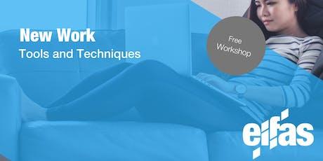 New Work - Free Workshop Tickets