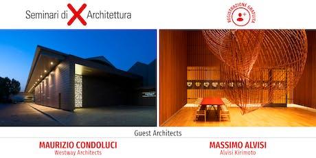 Seminario di Architettura Bari - Architettura e design al centro: creatività, tecnologia, ricerca biglietti