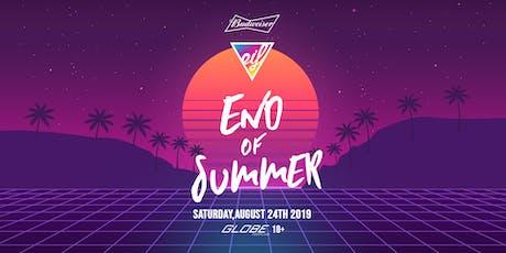 EIF End of Summer 2019 tickets