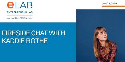 Fireside Chat with  Kaddie Rothe- Goalgirls