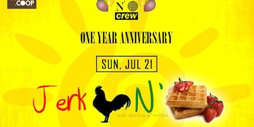 Jerk Chicken N' Waffles Brunch: One Year Anniversary!