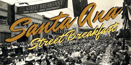 Santa Ana 150th Birthday Street Breakfast