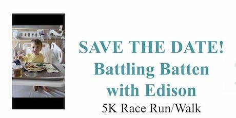 Battling Batten with Edison tickets