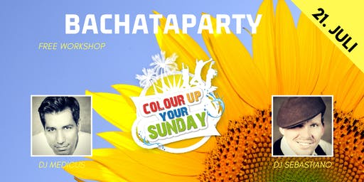 Colour up your Sunday Bachataparty - Sunshine Edition