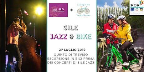Sile Jazz & Bike - Da Quinto di Treviso lungo la Treviso-Ostiglia fino alla Porta dell'Acqua biglietti