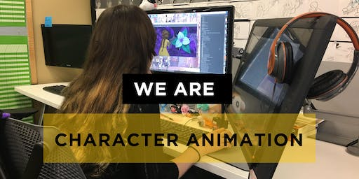 SVAD Character Animation Fall Open House