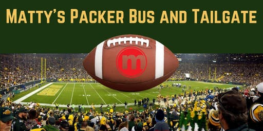 Matty's Packer Bus and Tailgate Oct 20th vs Oakland Raiders