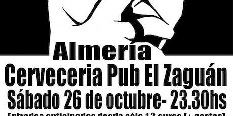 LOS SABINEROS regresan al Zaguán de Almería! entradas