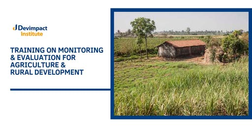 Training on Monitoring and Evaluation for Agriculture and Rural Development.