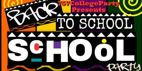 The Official 757 Back 2 School Party tickets