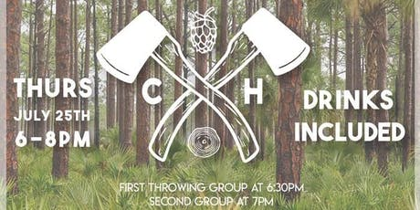 ASLA Broward Section Chops + Hops Axe Throwing tickets