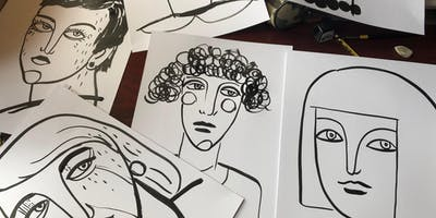 Thursday Sketching Afternoons with artist Evija Laivina