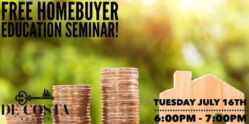 FREE Homebuyer Education Seminar!