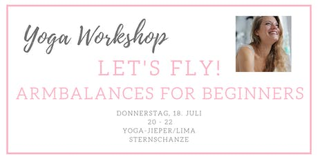 LET'S FLY! Armbalances for Beginners Tickets