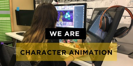 SVAD Character Animation Fall Open House tickets