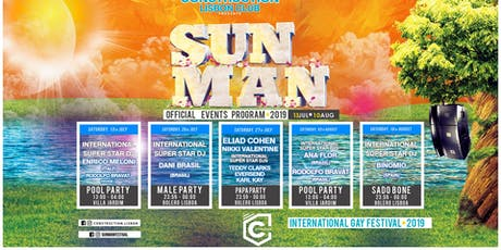 Sunman Festival 2019 - Tickets ALL EVENTS tickets
