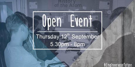 UTC Warrington September Open Evening tickets