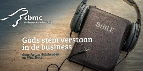 Workshop | Gods stem verstaan in de business | 15 & 29 november tickets