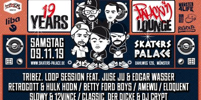 19Jahre Palace Lounge • Skaters Palace • Münster