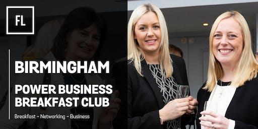 Forward Ladies Birmingham Power Business Breakfast Club - August