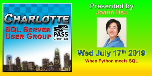 Charlotte SQL Server User Group - Wed July 17th - Meeting Invitation and RSVP