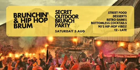 Brunch'n & Hip Hop - Summer Outdoor Brunch Party tickets