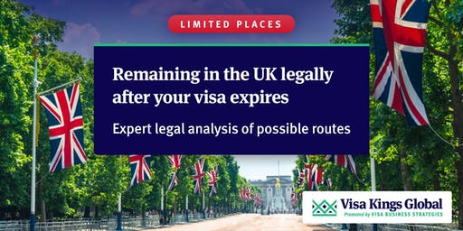 Remaining in the UK legally after your visa expires