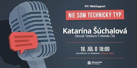 Ako postaviť tím, ktorý prináša inovácie? (Katarína Šúchalová, Slovak Telekom/T-Mobile ČR) tickets
