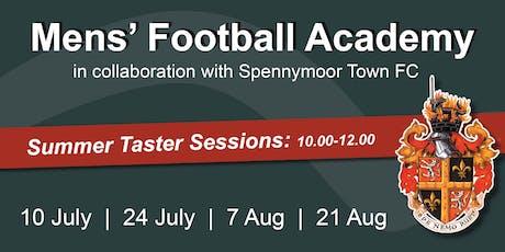 Mens' Football Academy Taster Session tickets