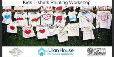 Kids T-shirt PaintingWorkshop
