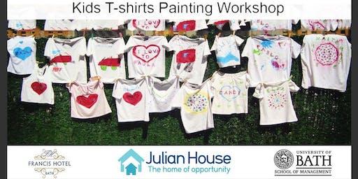 Kids T-shirt PaintingWorkshop (Limited Tickets)