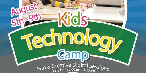Kids Technology Camp | Gweryll Technology i Blant