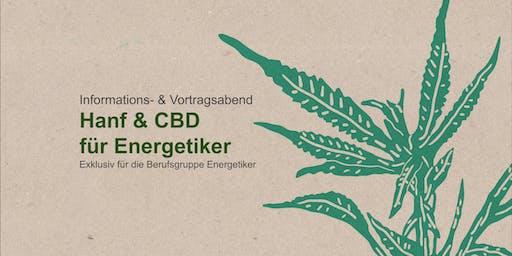 """Informations- & Vortragsabend """"Hanf & CBD für Energetiker"""""""