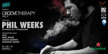 NoKal presents Groove Therapy vol. 3 featuring Phil Weeks tickets