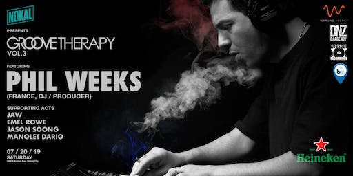 NoKal presents Groove Therapy vol. 3 featuring Phil Weeks