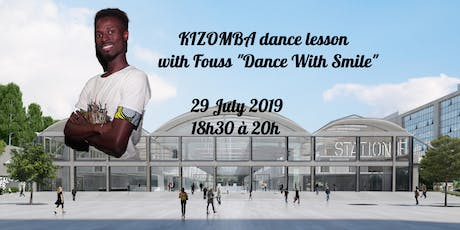 Kizomba dance Class / Cours d'Initiation at station F billets